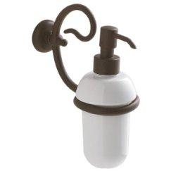 Dozatoare sapun Dozator sapun lichid Globo Paestum, ceramica, metal antichizat