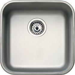 Chiuvete inox Chiuveta Teka BE 40.40, ventil pop-up, 424x424mm, inox