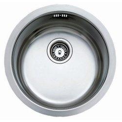 Chiuvete inox Chiuveta bucatarie Teka BE 39 Plus rotunda, cu 1 cuva, d 451mm, inox