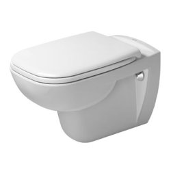 Obiecte sanitare Set vas WC suspendat Duravit D-Code 54.5x35.5cm si capac inchidere lenta