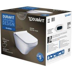 Default Category SensoDays Set vas WC suspendat Duravit Durastyle 54cm si capac inchidere lenta