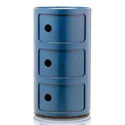 Default Category SensoDays Comoda modulara Kartell Componibili 3 design Anna Castelli Ferrieri, albastru