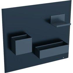 Default Category SensoDays Panou magnetic Geberit Acanto cu cutii depozitare negru mat  - Lava mat
