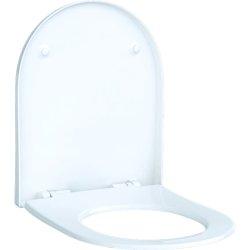 Capac WC Geberit Acanto cu inchidere lenta, Quick-Release, alb