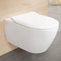 Set vas WC suspendat Villeroy & Boch Subway 2.0 DirectFlush cu capac inchidere lenta