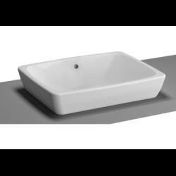 Obiecte sanitare Lavoar tip bol Vitra Metropole 50x40cm, fara orificiu baterie, fara preaplin, montare in blat