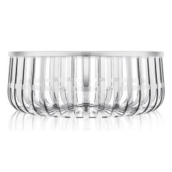 Default Category SensoDays Masuta Kartell Panier design Ronan & Erwan Bouroullec, 61cm, h 21cm, transparent
