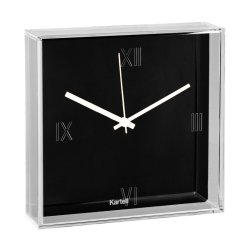 Default Category SensoDays Ceas Kartell Tic&Tac design Philippe Starck & Eugeni Quitllet, 30x30cm, negru
