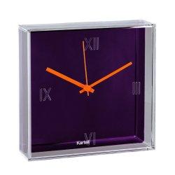 Default Category SensoDays Ceas Kartell Tic&Tac design Philippe Starck & Eugeni Quitllet, 30x30cm, violet metalizat