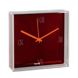 Default Category SensoDays Ceas Kartell Tic&Tac design Philippe Starck & Eugeni Quitllet, 30x30cm, portocaliu metalizat