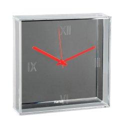 Default Category SensoDays Ceas Kartell Tic&Tac design Philippe Starck & Eugeni Quitllet, 30x30cm, crom metalizat