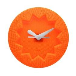 Ceasuri Ceas Kartell Crystal Palace design Alessandro Mendini, 19cm, portocaliu