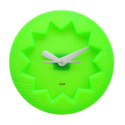 Ceasuri Ceas Kartell Crystal Palace design Alessandro Mendini, 19cm, verde menta