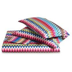 Cadouri pentru cei dragi Lenjerie de pat Missoni Valentino 250x200cm, 2 fete perna 50x80cm, culoare 160