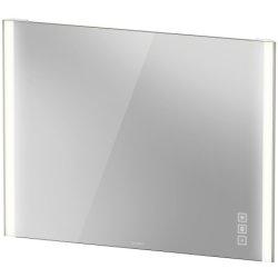 Oglinzi baie & Oglinzi cosmetice Oglinda Duravit XViu cu iluminare LED 102x80cm, cu incalzire si actionare pe senzor, margini champagne mat