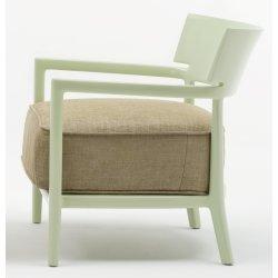 Canapele & Fotolii Fotoliu Kartell Cara Solid design Philippe Stark & Sergio Schito, verde/verde
