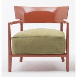 Canapele & Fotolii Fotoliu Kartell Cara Solid design Philippe Stark & Sergio Schito, ruginiu/verde