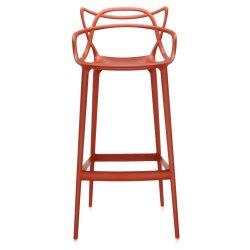 Scaun inalt Kartell Masters Stool design Philippe Starck & Eugeni Quitllet, 75cm, ruginiu