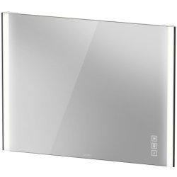 Oglinzi baie & Oglinzi cosmetice Oglinda Duravit XViu cu iluminare LED 102x80cm, cu incalzire si actionare pe senzor, margini negru mat