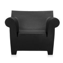 Canapele & Fotolii Fotoliu Kartell Bubble, design Philippe Starck, negru