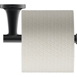 Default Category SensoDays Suport hartie igienica Duravit Starck T, negru mat