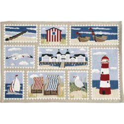 Textile decorative de masa Suport farfurii Sander Gobelins Ocean View 32x48cm, 40 natur