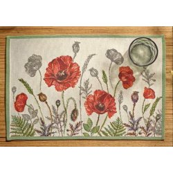 Default Category SensoDays Suport farfurii Sander Gobelins Poppy Meadow 32x48cm, 40 natur