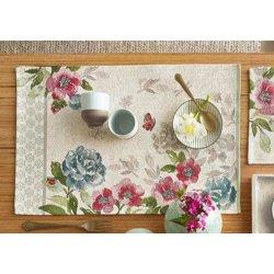Textile decorative de masa Suport farfurii Sander Gobelins Romance 32x48cm, 40 natur