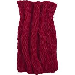 Textile decorative Pled Sander Knit 125x150cm, 26 rosu burgund