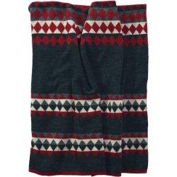 Textile decorative Pled Sander Pasvik 125x150cm, 34 graphite