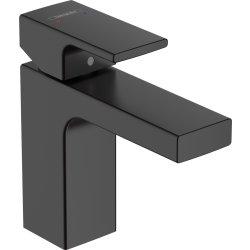 Default Category SensoDays Baterie lavoar Hansgrohe Vernis Shape 100, ventil pop-up, negru mat