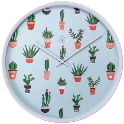 Produse Noi Ceas de perete NeXtime Cactus 30cm, verde
