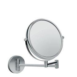 Oglinda cosmetica cu brat Hansgrohe Logis Universal x3, 18cm
