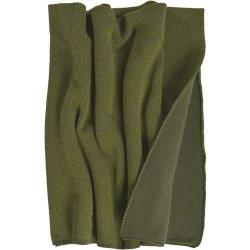 Textile decorative Pled Sander Stuart 125x150cm, 6 olive