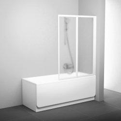 Paravane cada Paravan cada Ravak Concept Classic VS2 105 104.5cm, doua elemente mobile, alb