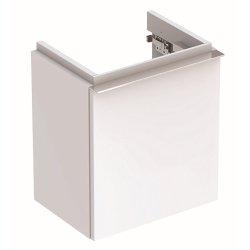 Mobilier de baie Dulap baza Geberit iCon 37cm cu o usa alb lucios
