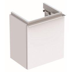 Mobilier de baie Dulap baza Geberit iCon 37cm cu o usa alb mat