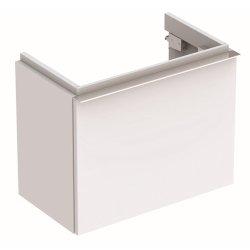 Dulap baza Geberit iCon 52cm cu un sertar, alb mat