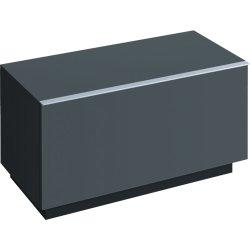 Dulap pe pardoseala Geberit iCon 89x47.2x47.7cm cu un sertar, negru lava mat