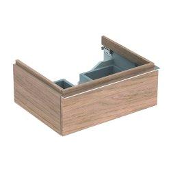 Mobilier de baie Dulap baza Geberit iCon 59.5cm cu un sertar, stejar