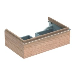Dulap baza Geberit iCon 74cm cu un sertar, stejar