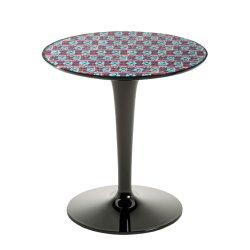 Masute de cafea Masuta Kartell TipTop design Philippe Starck & Eugeni Quitlet, editie Double J, d48.5cm, h50, model pic-nic