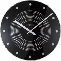 Default Category SensoDays Ceas de perete NeXtime Concentric 35cm, negru