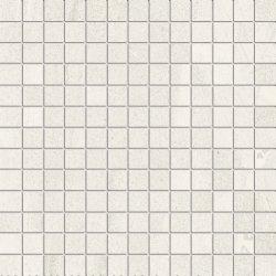 Default Category SensoDays Mozaic Iris Pietra di Basalto 3x3, 30x30cm, Bianco