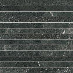 Default Category SensoDays Mozaic Iris Pietra di Basalto 3x30, 30x30cm, Nero