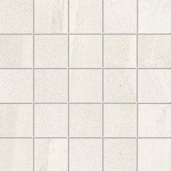 Default Category SensoDays Mozaic Iris Pietra di Basalto 5.5x5.5, 30x30cm, Bianco