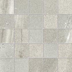 Default Category SensoDays Mozaic Iris Pietra di Basalto 5.5x5.5, 30x30cm, Grigio