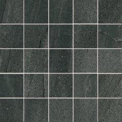 Default Category SensoDays Mozaic Iris Pietra di Basalto 5.5x5.5, 30x30cm, Nero