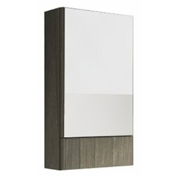 Dulap cu oglinda Kolo Nova PRO 49,3 x 85 x 17,6 cm finisaj gri