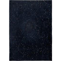 Default Category SensoDays Covor Christian Fischbacher Celestial, colectia Neon, 140x200cm, Night Sky